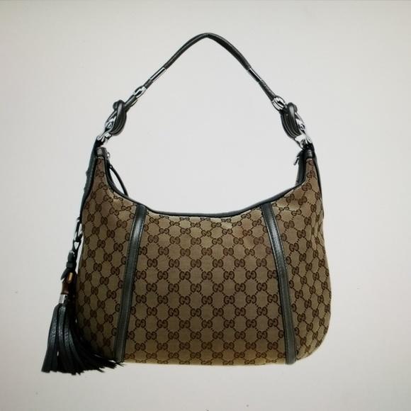 6457d746a24a Gucci Bags | Medium Techno Horsebit Hobo Bag | Poshmark